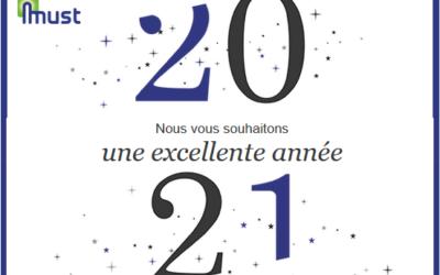 Must vous présente ses meilleurs vœux 2021